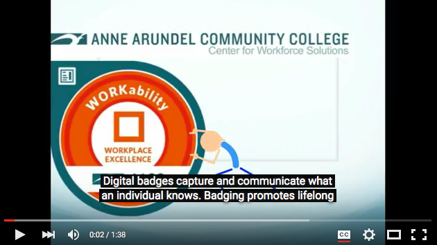 Watch the Digital Badging Video